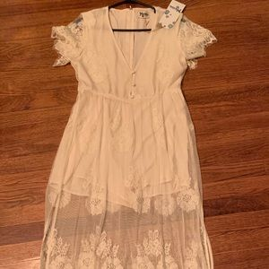 Show Me Your Mumu Romper Lace Dress NEW Size Small